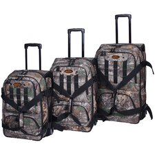 Xtra 3 Piece Casual Upright Luggage Set