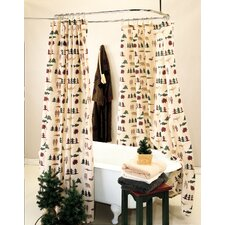 <strong>True Grit</strong> Northern Exposure Shower Curtain