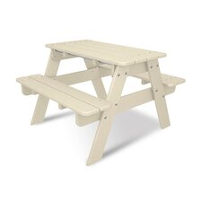 <strong>POLYWOOD®</strong> Kids Rectangular Picnic Table