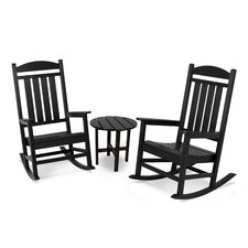 Presidential 3 Piece Rocker Seating Group