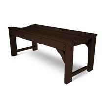 Traditional Wood Gadern Bench