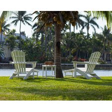South Beach Ultimate 3 Piece Adirondack Seating Group