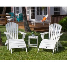 South Beach 5 Piece Adirondack Seating Group