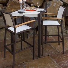 Bayline™ 3 Piece Bar Dining Set