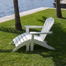 <strong>POLYWOOD®</strong> South Beach 2 Piece Adirondack Seating Group