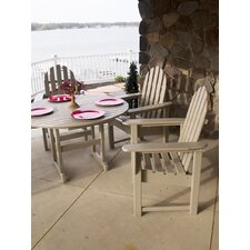 <strong>POLYWOOD®</strong> Casual Adirondack 5 Piece Dining Set