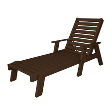 <strong>POLYWOOD®</strong> Captain Chaise Lounge with Arms