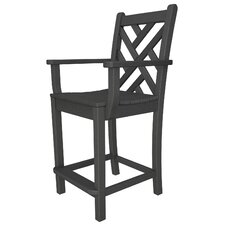 "Chippendale 24"" Barstool"