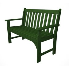 Vineyard Plastic Garden Bench