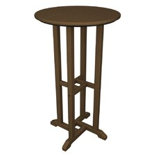 Traditional Round Bar Table