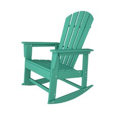 South Beach Shell Back Rocking Chair