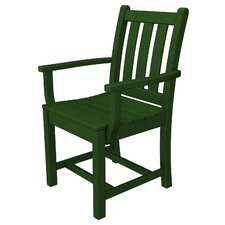 <strong>POLYWOOD®</strong> Traditional Garden Dining Arm Chair