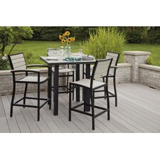 <strong>POLYWOOD®</strong> Euro 5 Piece Dining Set