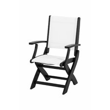 <strong>POLYWOOD®</strong> Coastal Folding Chair