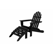 <strong>POLYWOOD®</strong> Adirondack 2 Piece Set (Set of 2)