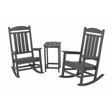 <strong>POLYWOOD®</strong> Presidential 3 Piece Rocker Set