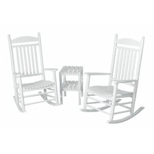 <strong>POLYWOOD®</strong> Jefferson 3 Piece Rocker Set