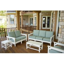 <strong>POLYWOOD®</strong> Club 5 Piece Deep Seating Group