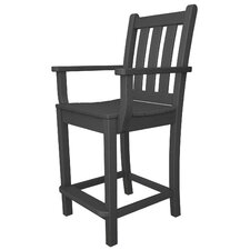 "Traditional Garden 24"" Barstool"