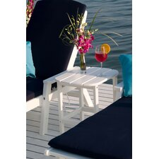<strong>POLYWOOD®</strong> South Beach Shell Back Side Table