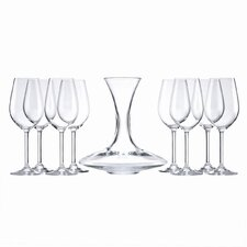 That's Entertainment 9 Piece Assorted Wine Glass Set