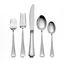 Sterling Silver Groham Fairfax 46 Piece Flatware Set