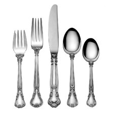 Chantilly 5 Piece Flatware Set with Pie Server