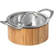 Cook 'n' Serve Stock Pot with Lid