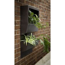 Natur Garden Wall System Rectangular Planters (Set of 4)