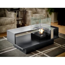 Level Compact Tabletop Bio Ethanol Fireplace