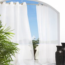 Outdoor Décor Escape Grommet Curtain Panel
