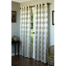 Hologram Grommet Curtain Single Panel