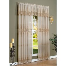 <strong>Commonwealth Home Fashions</strong> Rod Pocket Curtain Single Panel