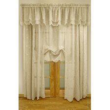 Hathaway Exquisite Scroll Motif Window Treatment Collection