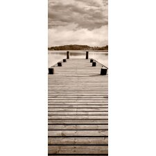 Wooden Dock Wall Mural