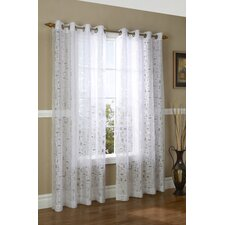 Triumph Grommet Window Curtain Single Panel
