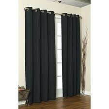 Cite A Heavy Solid Fabric Curtain Single Panel
