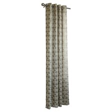 <strong>Commonwealth Home Fashions</strong> Cotton Blend Grommet Curtain Single Panel