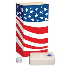 Americana Candle Luminaria Kit (Set of 12)