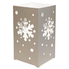 Snowflake 6 Count Tabletop Lanterns (Set of 6)
