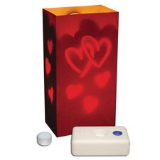 <strong>Luminarias</strong> Hearts Candle Luminaria Kit (Set of 12)