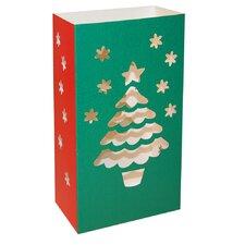 Christmas Tree Luma Lantern (Set of 12)