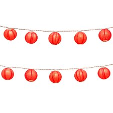String Light Paper Lanterns (Set of 10)