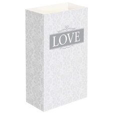 <strong>Luminarias</strong> Love Luminaria Bags (Set of 24)