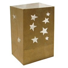 <strong>Luminarias</strong> Mini Gold Star Tabletop Bag (Set of 24)