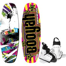 Booyah Wakeboard With Juice Youth Performance Bindings