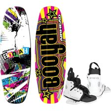 Booyah Wakeboard With Primo Performance Bindings