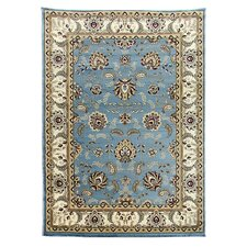 Tiffany Blue Oriental Area Rug