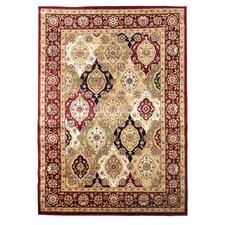 Tiffany Burgundy Oriental Rug