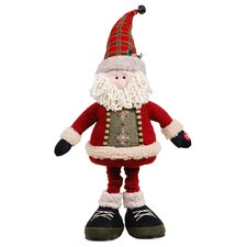 "20"" Up-Down Musical Santa with Flapping Arms"